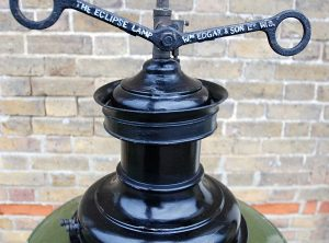 Engine Room Gas Lamps, Pair