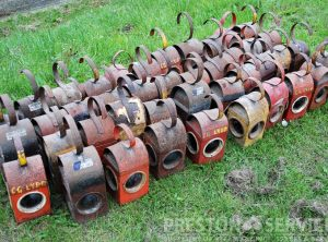 Road Menders Vintage Oil Lamps, Selection
