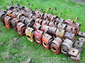 Road Menders Vintage Oil Lamps, Selection