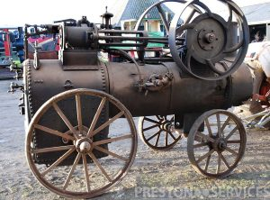 LANZ 4 NHP Portable Steam Engine