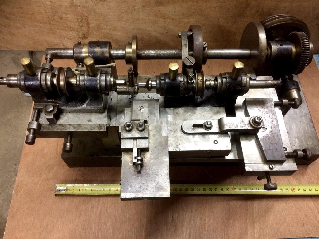 19th Century Clock Makers Lathe French Preston Services