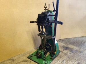 Single Cylinder Steam Launch Engine