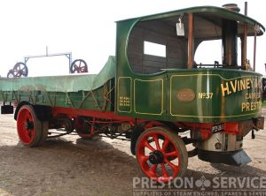 LEYLAND Steam Wagon