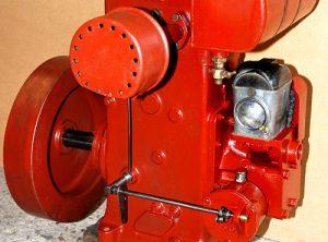 R.A. LISTER Model 'D' Petrol Engine