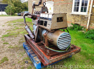 LISTER 25 KVA Generator Set