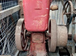 Early LISTER Portable Engine