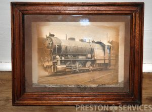 G.E.R. 'DECAPOD' 0-10-0 LOCOMOTIVE 8″ x 10″ Framed Print