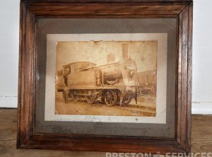 2-4-0 LOCOMOTIVE 8″ x 10″ Framed Print