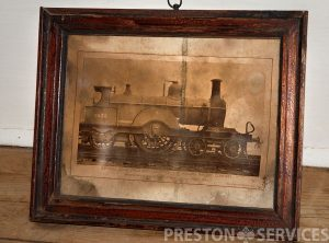 MIDLAND EXPRESS LOCOMOTIVE 8″ x 10″ Framed Print