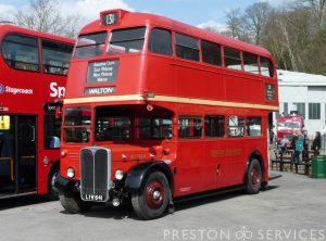 1951 AEC RT London Bus
