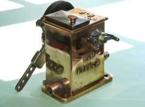"""THE R.P"" Mechanical Engine Cylinder Lubricator"