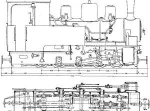 ORENSTEIN & KOPPEL 2 Ft Gauge 0-10-0 'Luttermoller' Loco 13101