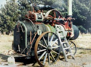 MARSHALL 10 NHP Portable Steam Engine