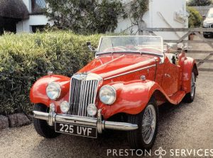 1954 MG TF Sports Car