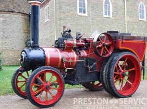 "MANN Steam Tractor ""Little Jim"""