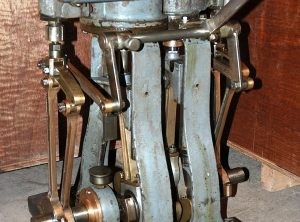 BRITISH Made Compound Steam Launch Engine