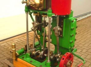 Compound Steam Launch Engine