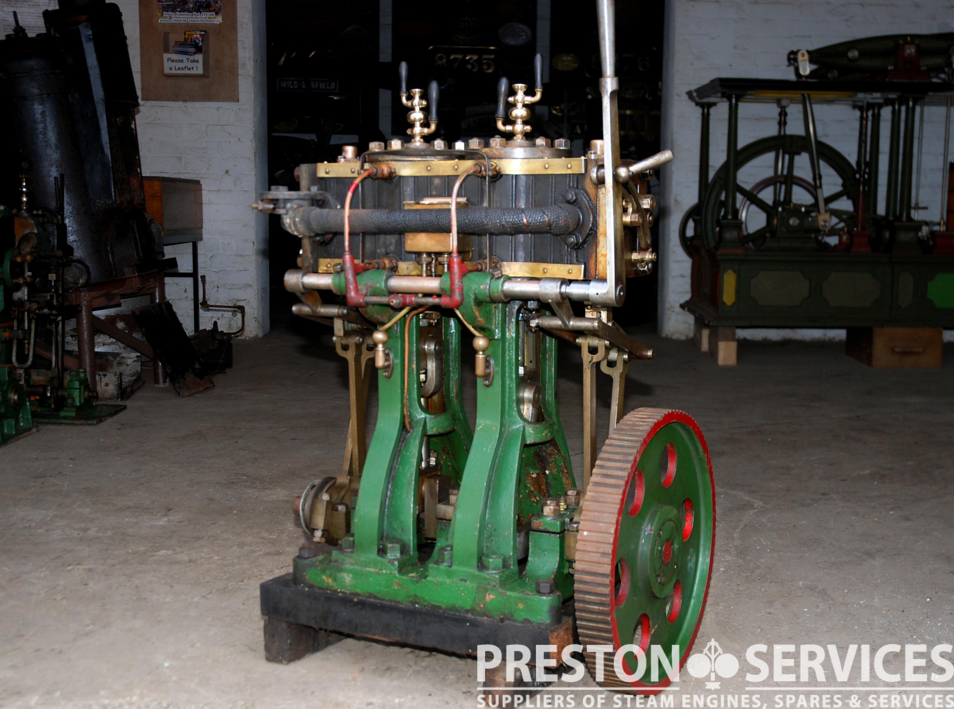 Twin High Pressure Marine Steam Engine Preston Services