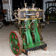 TWIN HIGH PRESSURE Marine Steam Engine