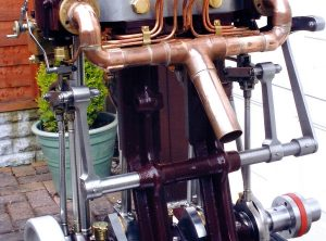 New Built TWIN CYLINDER Marine Steam Engine