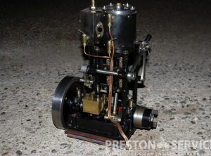 "Taylor Vertical Steam Launch Engine, 2½"" x 2½"" Cylinder"