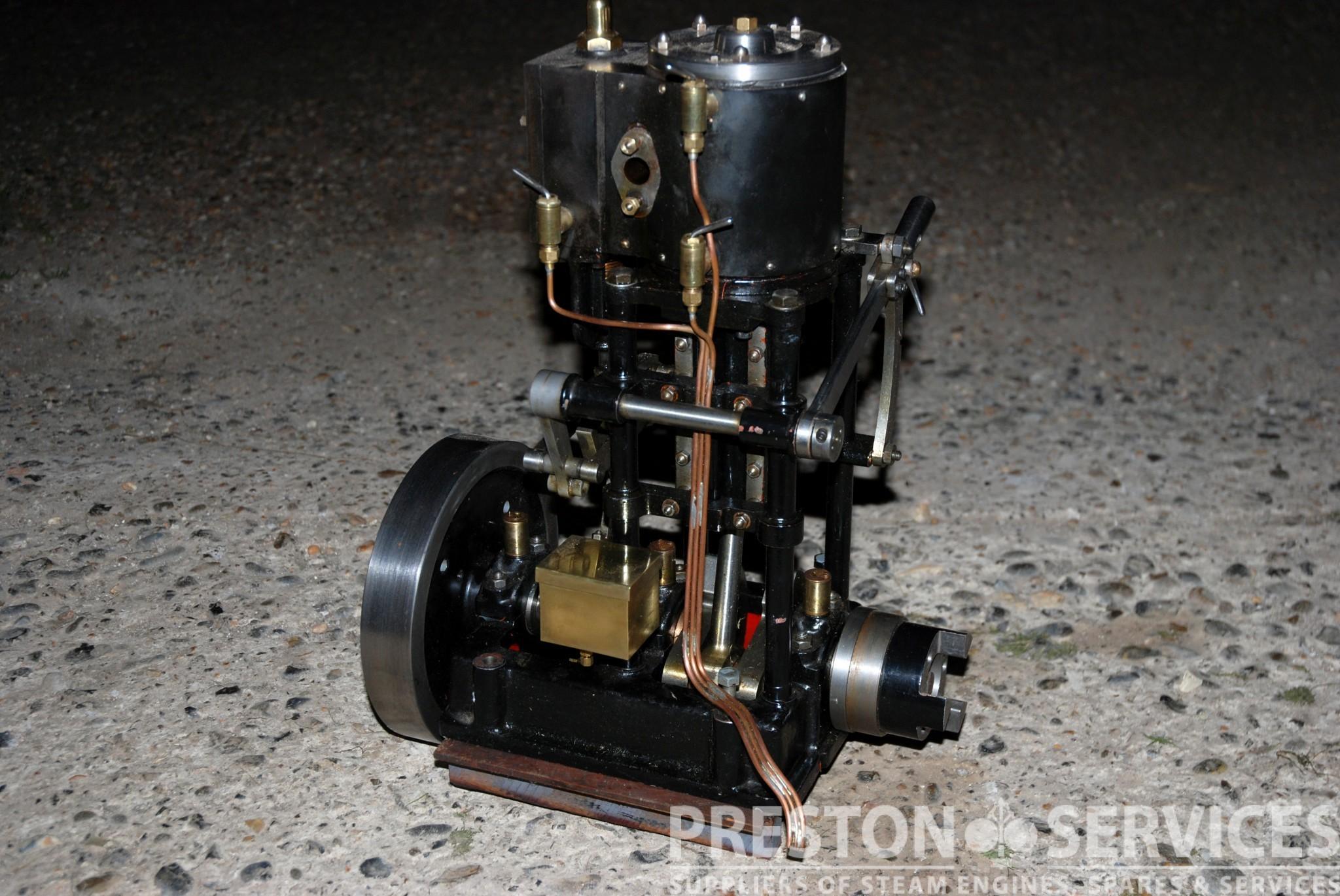 """Taylor Vertical Steam Launch Engine 2½"""" x 2½"""" Cylinder PRESTON"""