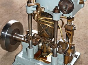 "Single Cylinder Steam Launch Engine 3½"" x 2″"