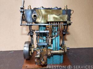 Compound Marine Engine Miniature