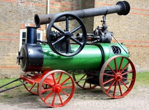 MARSHALL 4 NHP Portable Steam Engine