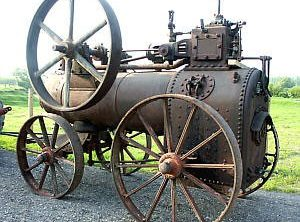 MARSHALL 5 NHP Portable Steam Engine