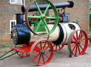 "MARSHALL 6 NHP ""Britannia"" Portable Steam Engine"