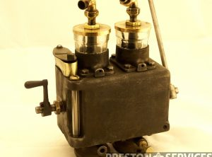 MARSHALL Road Locomotive Type, Twin Feed Mechanical Cylinder Lubricator