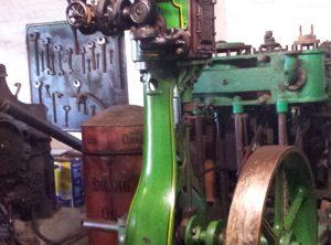 """MARSHALL Workshop Steam Engine Vertical Cylinder 4½"""" x 8″"""