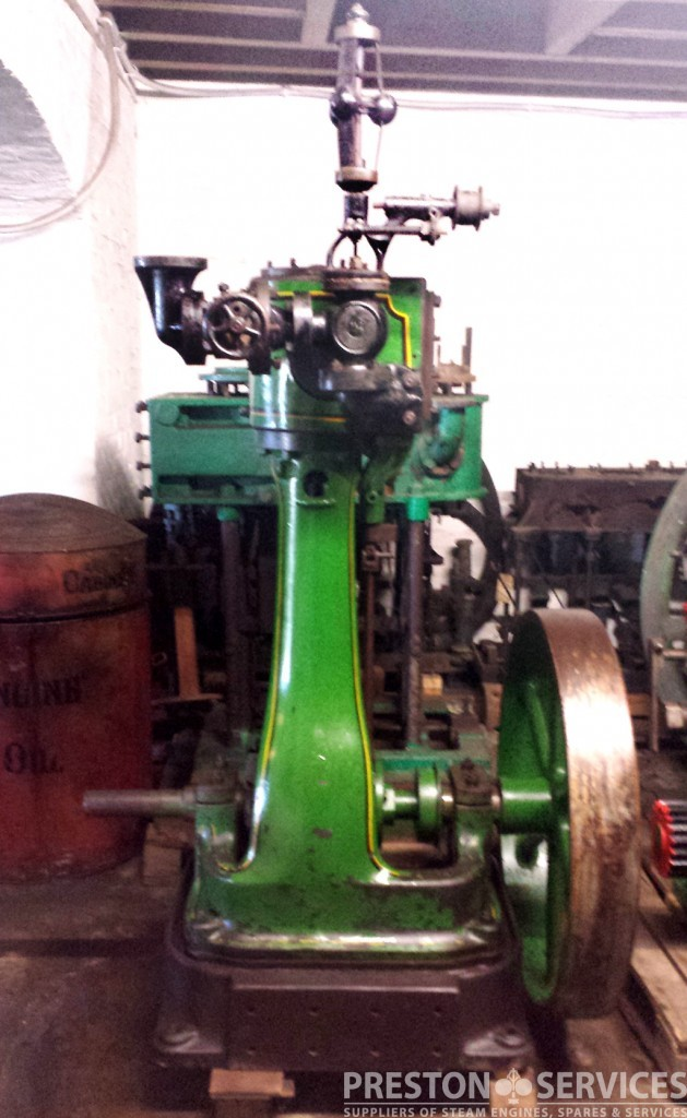 Marshall Workshop Steam Engine Vertical Cylinder 4 189 Quot X 8