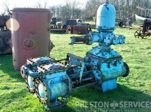 MATHER & PLATT Duplex Boiler Feed Pump