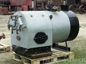 Steam Launch Type Marine Boiler