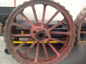 McLAREN Traction Engine Rear Wheels