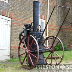 MERRYWEATHER Steam Fire Pump