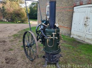 "MERRYWEATHER ""Valiant"" Steam Fire Pump"