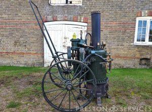 """MERRYWEATHER """"Valiant"""" Steam Fire Pump"""