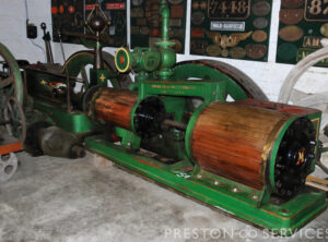 METCALFE Tandem Compound Mill Engine