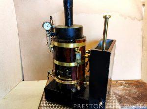 Small Vertical Fire Tube Boiler