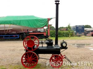 RANSOMES Style Miniature Portable Engine