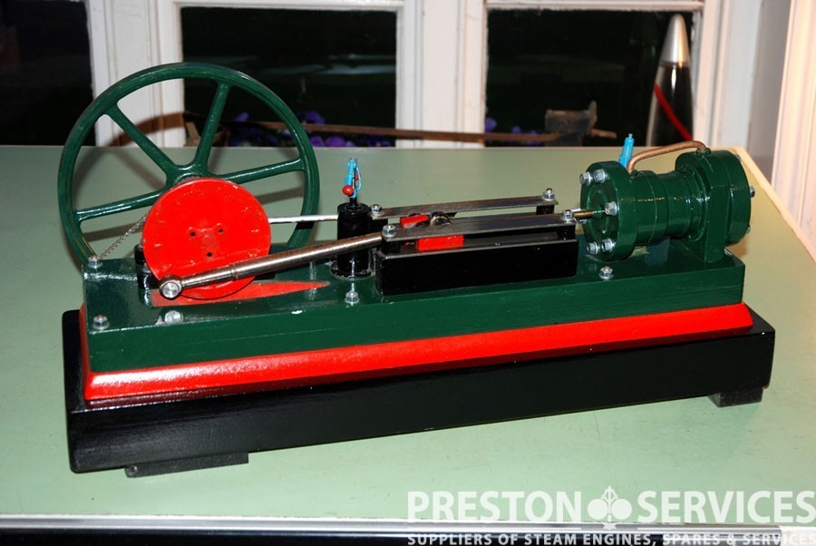 Collection of model steam engines preston services for Stationary motors for sale