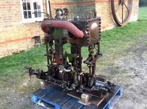 A.G. MUMFORD Steam Yacht Engine