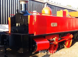NEILSON Tank Locomotive 'BECKTON No.1'