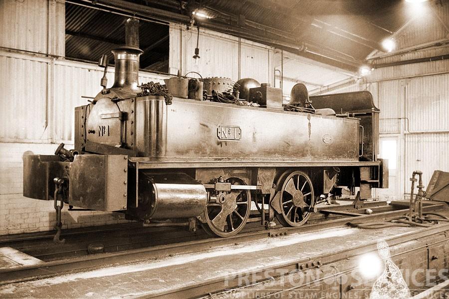 Neilson Tank Locomotive Beckton No 1 Preston Services