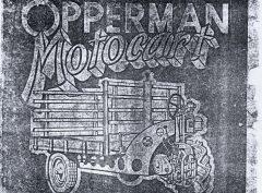 OPPERMAN Motocart