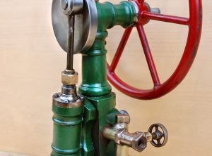 OSCILLATING Steam Engine Single Cylinder