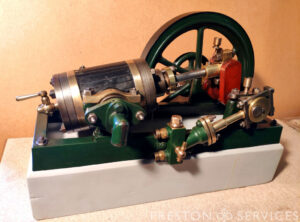 OSCILLATING Single Cylinder Workshop Engine
